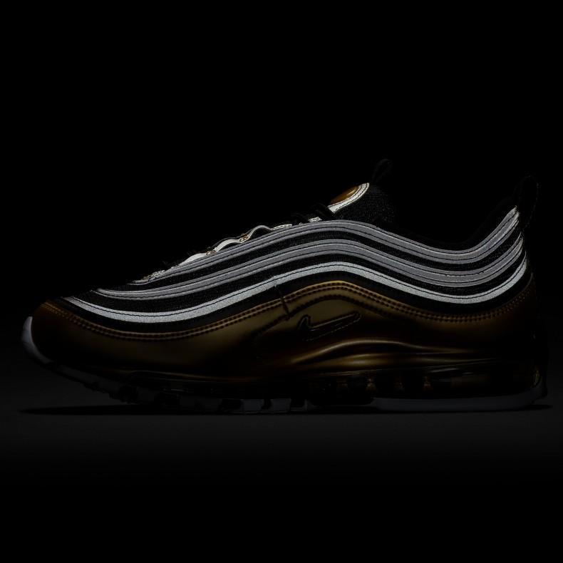 the best attitude 66f34 74c52 Nike Air Max 97 'B-Sides Metallic Pack' QS (Black/Varsity Red-Metallic  Gold-White)
