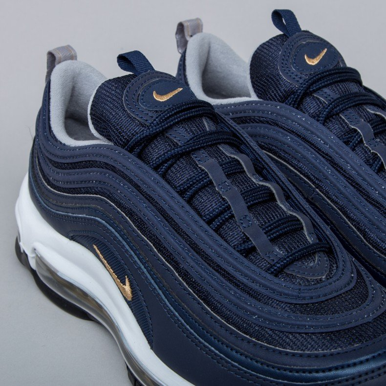 new product 1be81 831ee Nike Air Max 97 'Midnight Run' (Midnight Navy/Metallic Gold ...