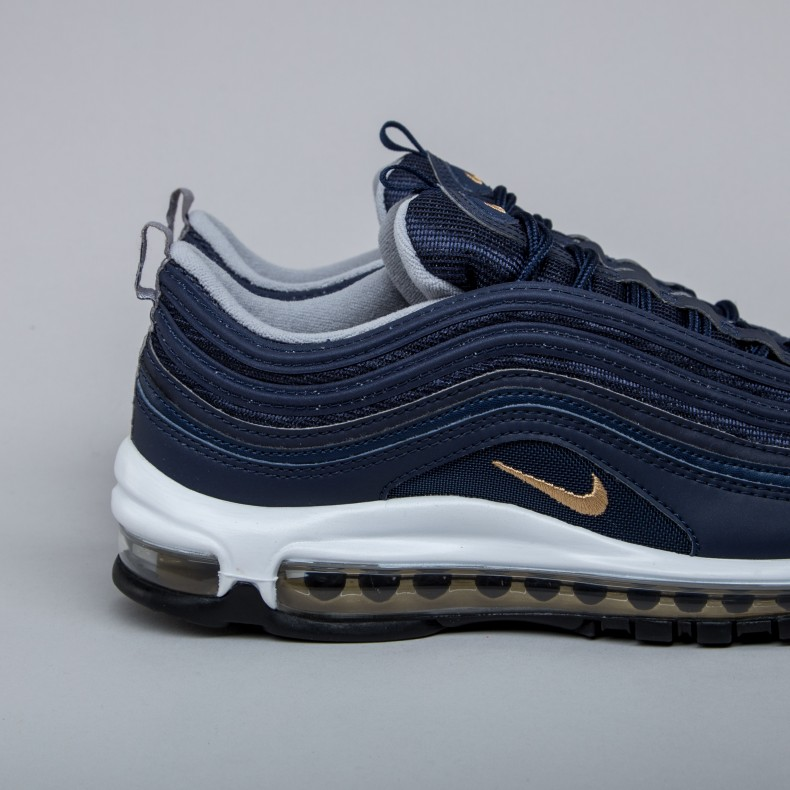 12de73cdf3 Nike Air Max 97 'Midnight Run' (Midnight Navy/Metallic Gold ...
