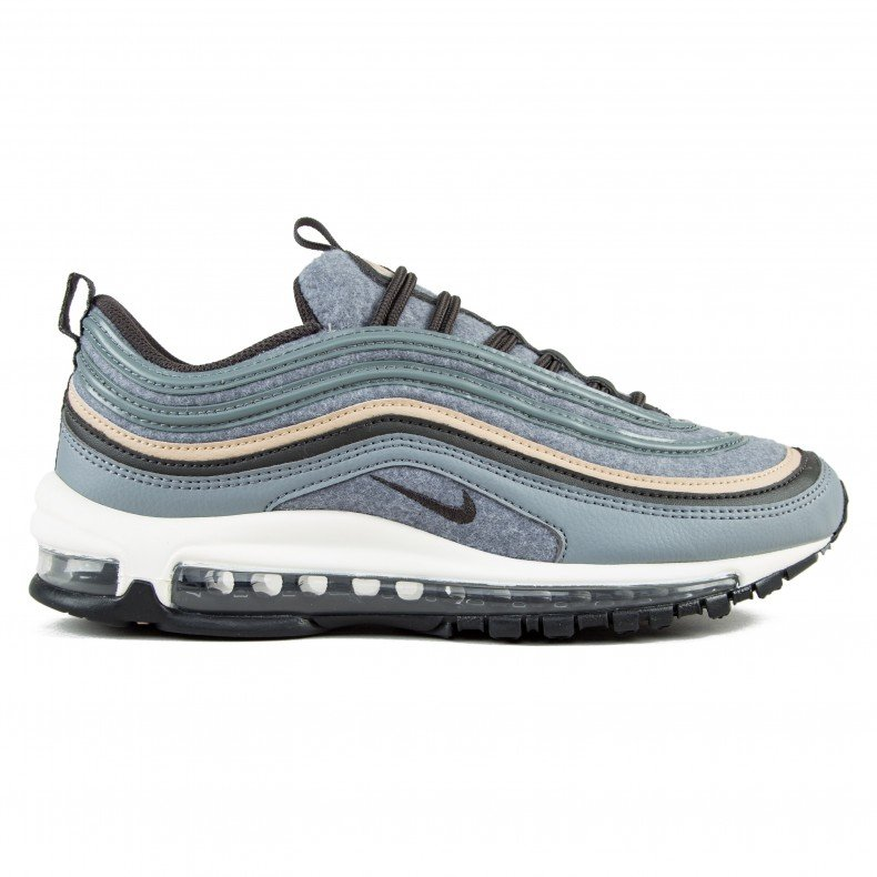 ea8d1165d1dceb Nike Air Max 97 Premium (Cool Grey Deep Pewter-Mushroom-Sail) - Consortium