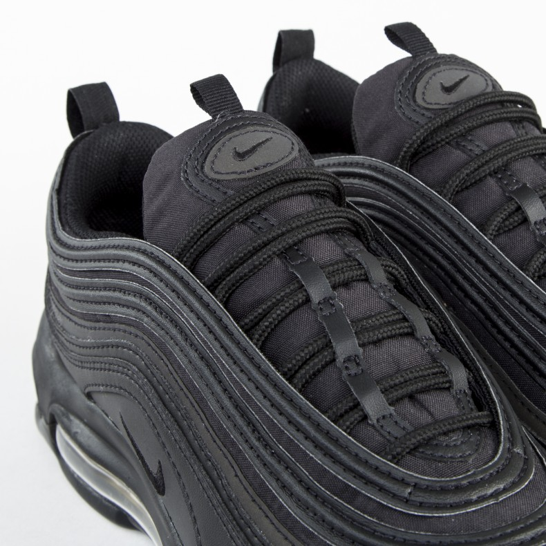 50bde7df82 Nike Air Max 97 Premium SE 'Black & Gold' (Black/Black-Metallic Gold ...