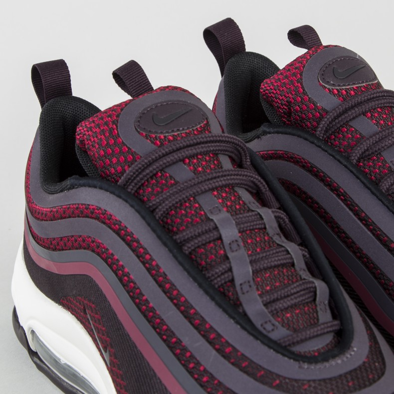 Details about Nike Air Max 97 Ultra '17 Noble Red Port wine Purple UK Size 6 Boxed