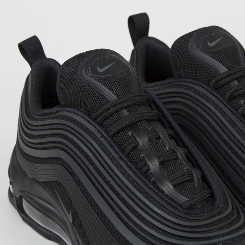 7314ad635eae Nike Air Max 97 Ultra  17 Premium (Black Black-Anthracite) - Consortium