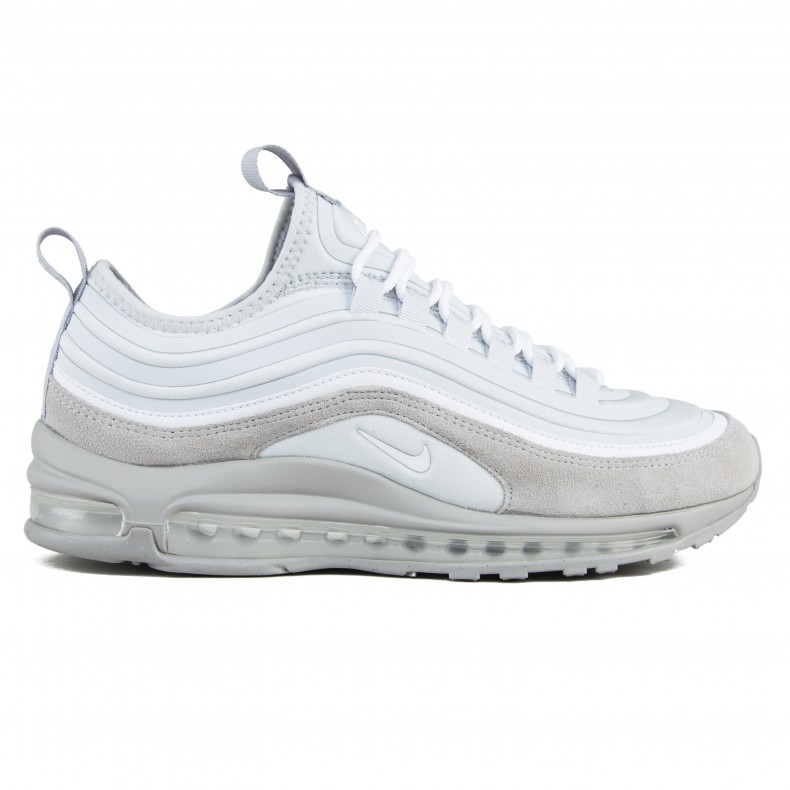 best website 631fd eb1a0 Nike Air Max 97 Ultra  17 SE (Pure Platinum White-Wolf Grey) - Consortium