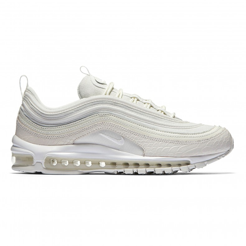 the best attitude b3cf1 8e3d7 Nike Air Max 97 White Snakeskin