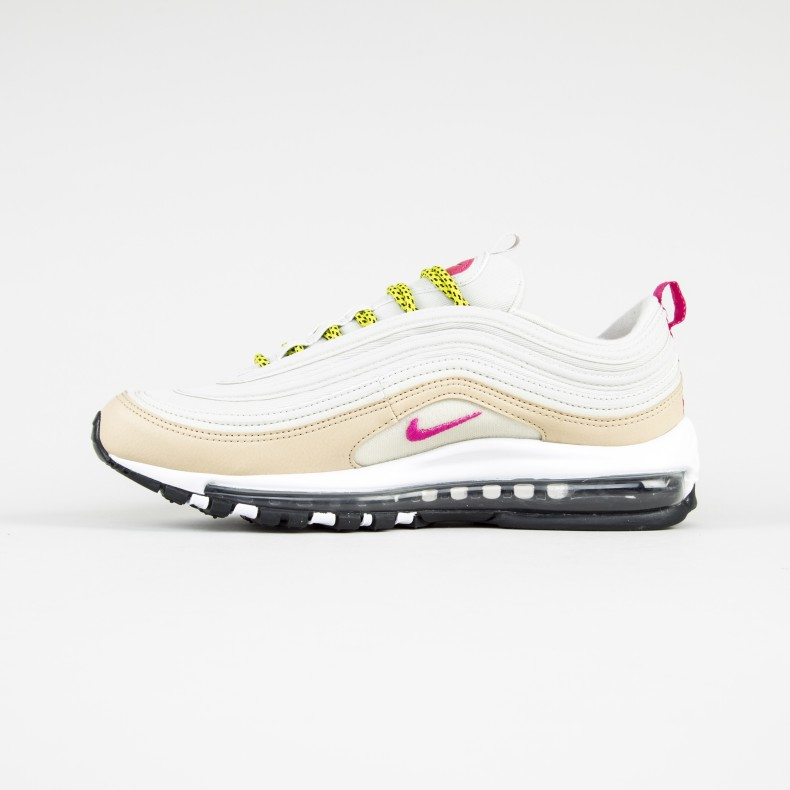 san francisco 35ae3 ada14 Nike Air Max 97 WMNS (Light Bone/Deadly Pink-Mushroom)
