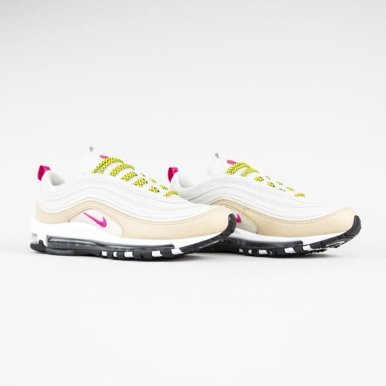 Nike Air Max 97 WMNS (Light BoneDeadly Pink Mushroom