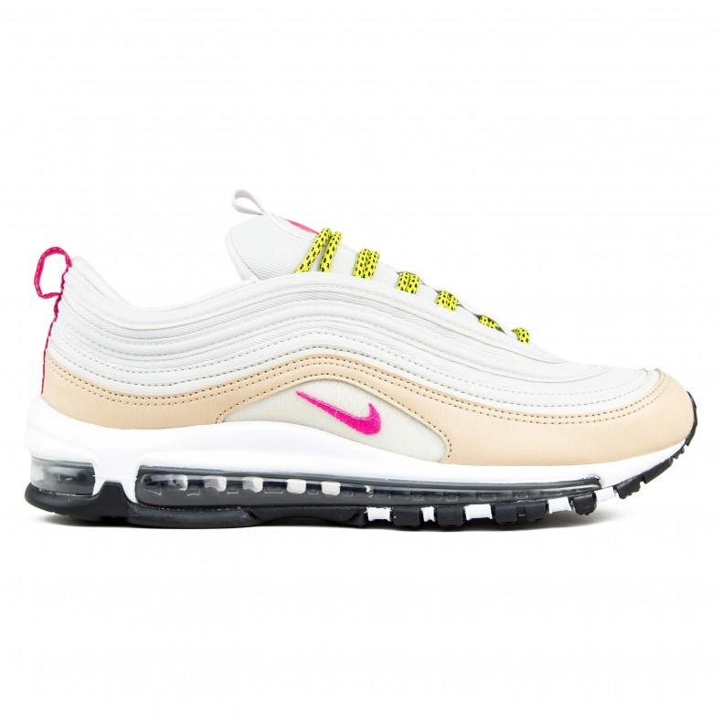san francisco 84560 59240 Nike Air Max 97 WMNS (Light Bone/Deadly Pink-Mushroom)