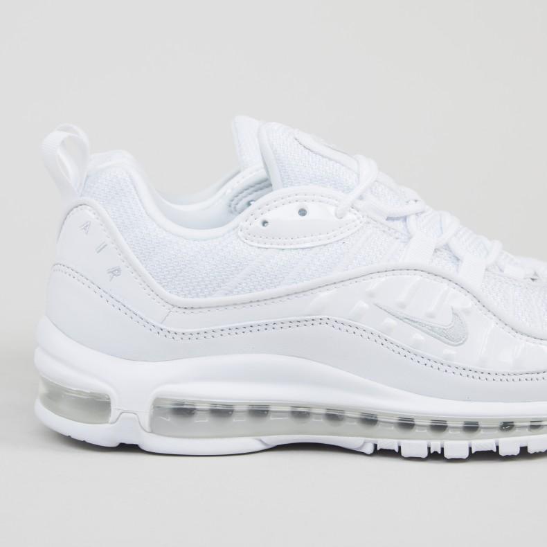 newest 24042 220c3 Nike Air Max 98 OG 'Triple White' (White/Pure Platinum ...