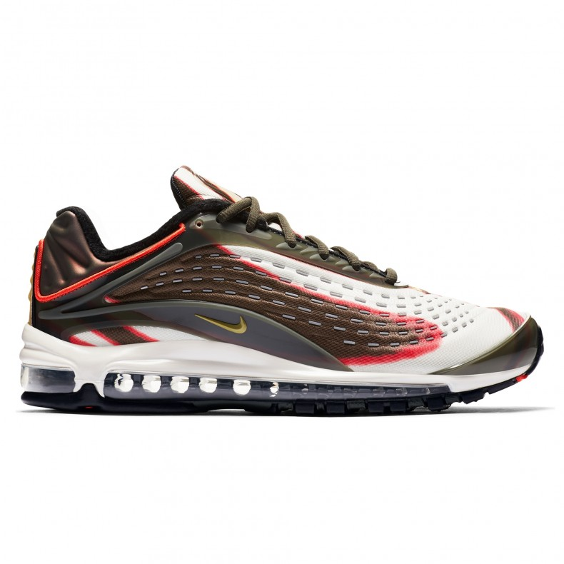 Nike Air Max Deluxe 'Sequoia' (SequoiaCamper Green Team Orange Black)