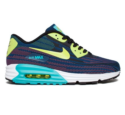 online store 55cfb c454d Nike Air Max Lunar 90 JCRD (Black Force Green-Dusty Cactus-Brave Blue) -  Consortium