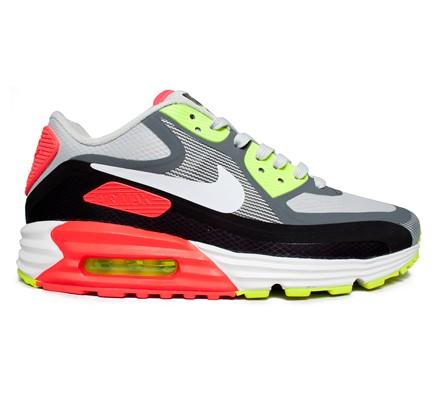 free shipping 263e3 78f68 Nike Air Max Lunar 90 WR (Light Ash Grey White-Black-Laser Crimson) -  Consortium