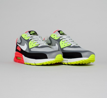 Nike Air Max Lunar90 WR Light Ash Grey White Black