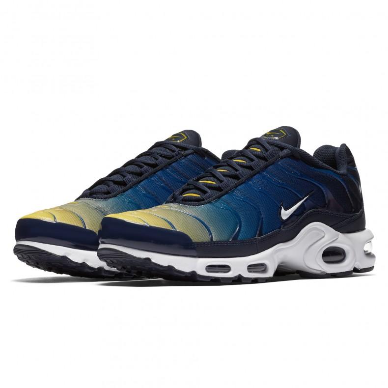 Nike Air Max Plus 'Gradient Pack' (ObsidianWhite Gym Blue Lemon Wash)