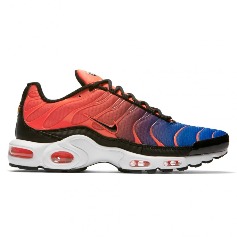 new arrival 10c71 0880a Nike Air Max Plus 'Gradient Pack' (Total Crimson/Black-Racer Blue-White)