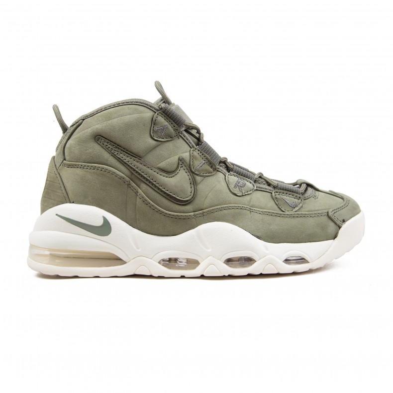 online store 75254 2853b Nike Air Max Uptempo  Olive Pack  (Urban Haze Urban Haze-White) -  Consortium.