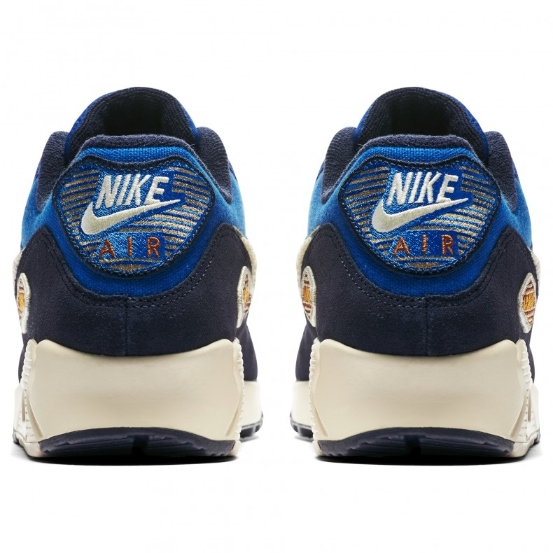 Nike Air Max 90 Premium SE 'Chenille Swoosh' (Game Royal