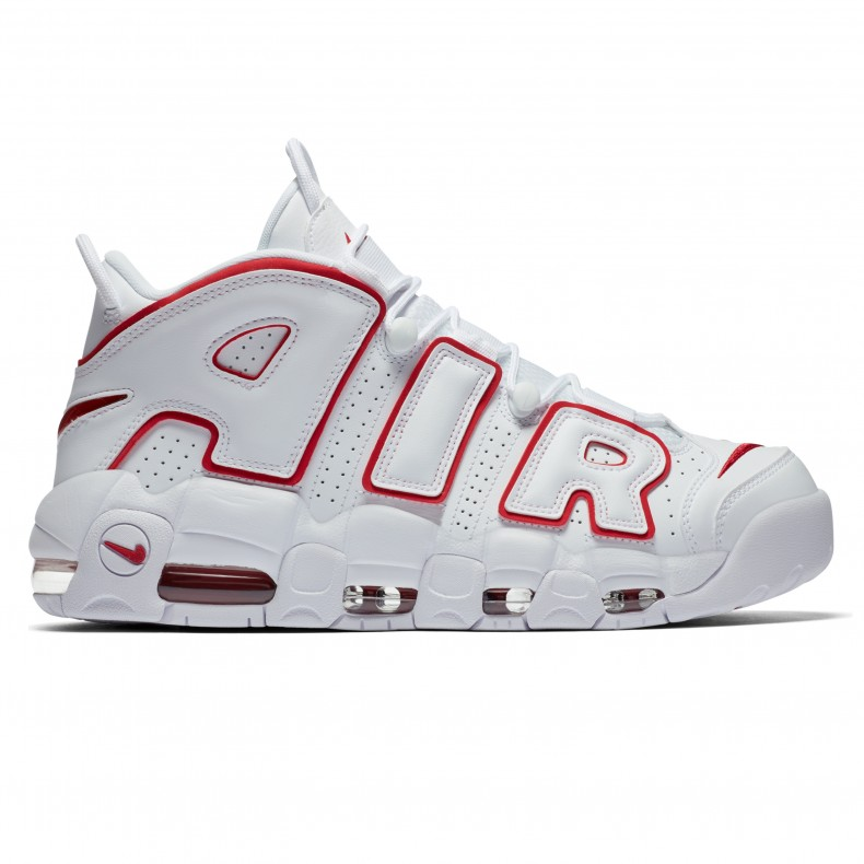 9645a7505254f Nike Air More Uptempo  96  Varsity Red  (White Varsity Red-White) -  Consortium