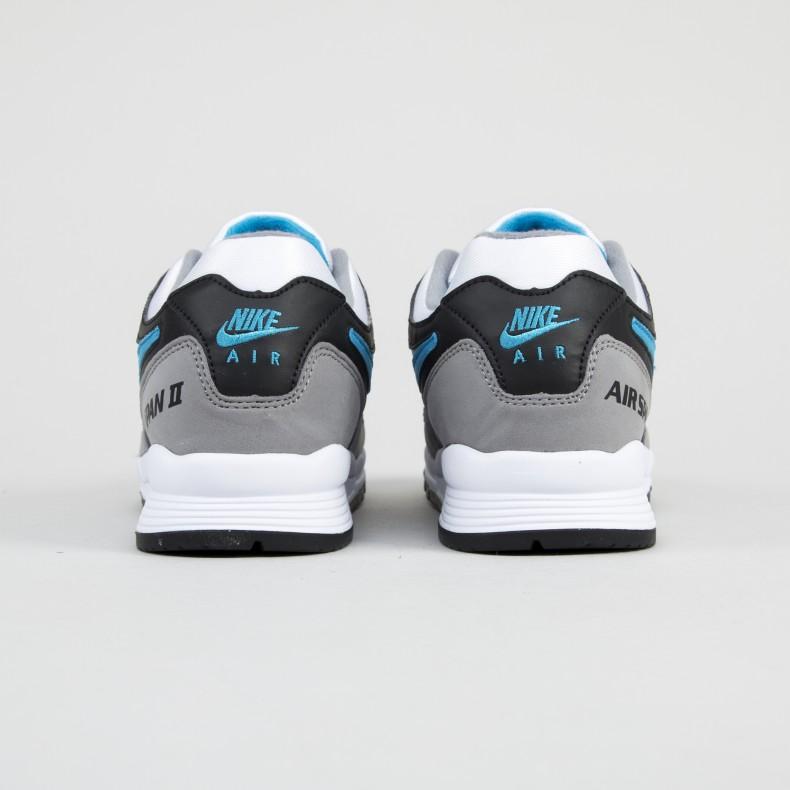 875585668126 Nike Air Span II OG  Laser Blue  (Black Laser Blue-Dust-White ...