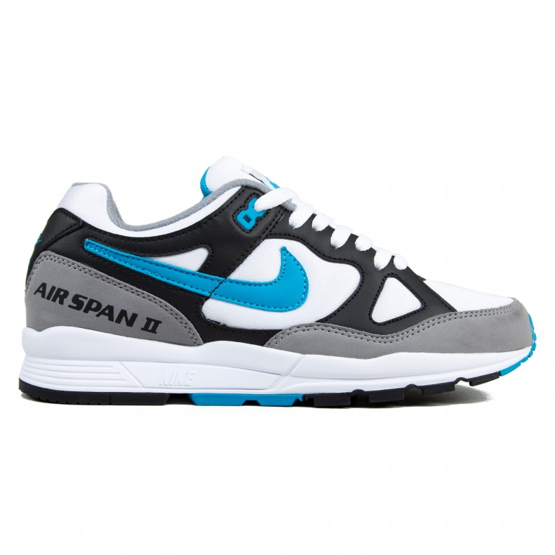 Nike Air Span II OG  Laser Blue  (Black Laser Blue-Dust-White) - Consortium a0aa99cb6