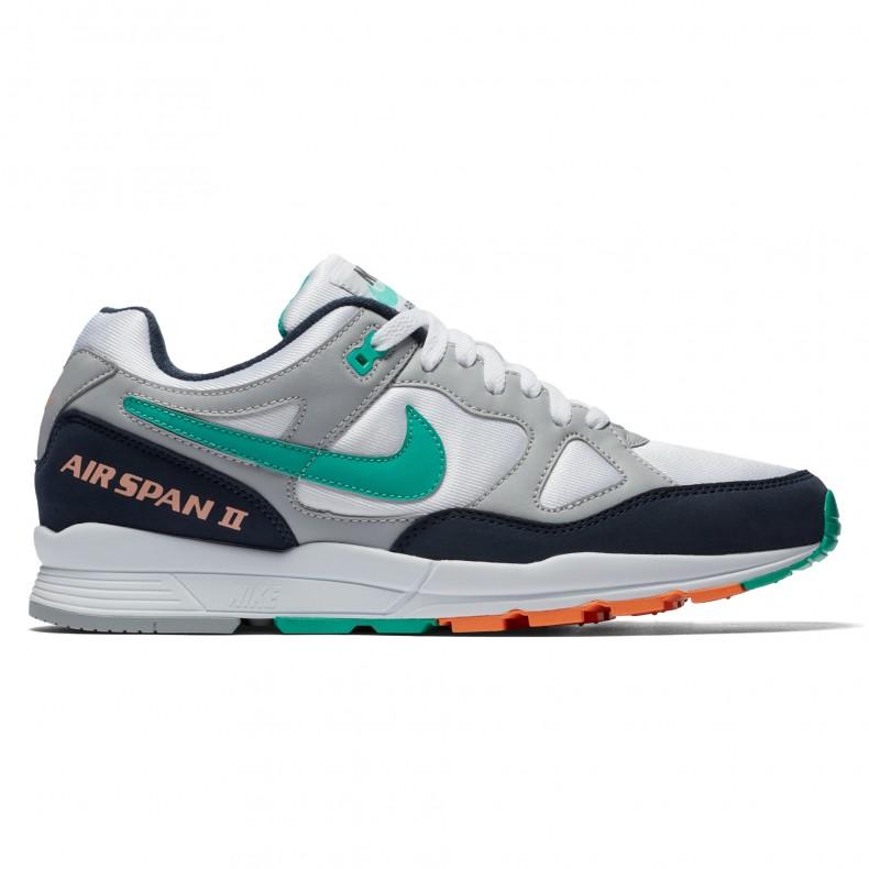 buy cheap b0a61 07eab Nike Air Span II (Wolf GreyKinetic Green-Obsidian) - Consort