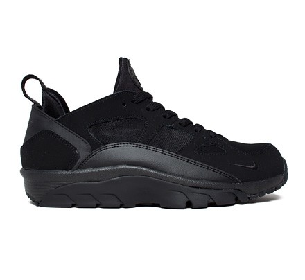 half off 24913 b215d Nike Air Trainer Huarache Low (Black/Black) - Consortium.