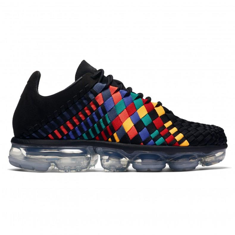 32c15e0049331 Nike Air VaporMax Inneva  Rainbow . (Black Black-Glacier Blue-Laser ...