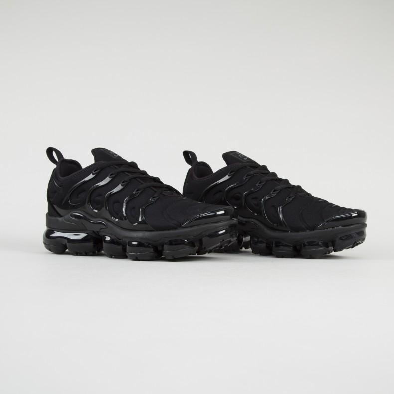 the latest 7b46d b59f1 Nike Air VaporMax Plus 'Triple Black' (Black/Black-Dark Grey)