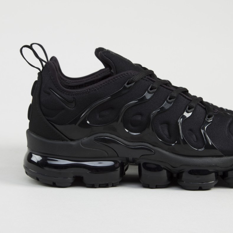 the latest 170bc dc3b0 Nike Air VaporMax Plus 'Triple Black' (Black/Black-Dark Grey)