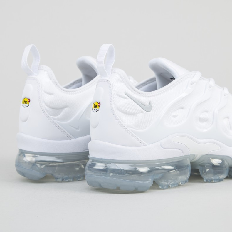 newest 5c7c8 a7897 Nike Air VaporMax Plus 'Triple White' (White/White-Pure ...