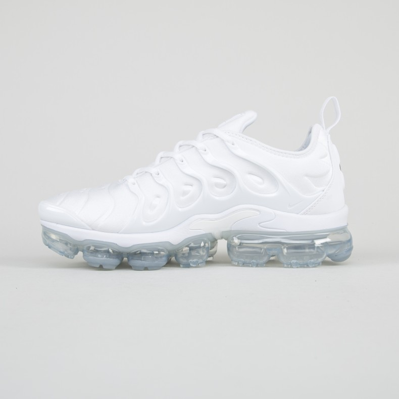 newest 9745c eb0f5 Nike Air VaporMax Plus 'Triple White' (White/White-Pure ...