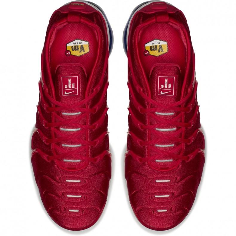 b013aa1b4b Nike Air VaporMax Plus 'USA Firecracker'. (University Red/White-Black-Photo  Blue)