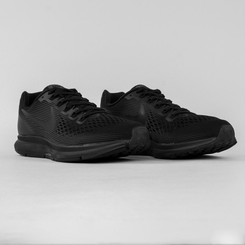 reputable site 303b7 d4ab8 Nike Air Zoom Pegasus 34 (Black/Dark Grey-Anthracite ...
