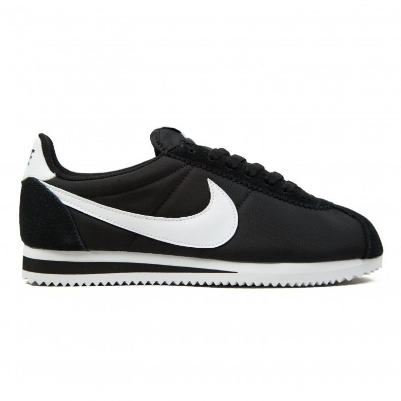 get new fast delivery great prices free shipping nike classic cortez nylon silver black e8205 fb4c2