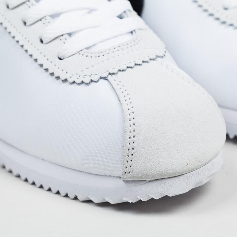 3f1ae769dfc3 Nike Classic Cortez Nylon (White Black-Light Bone) - Consortium.