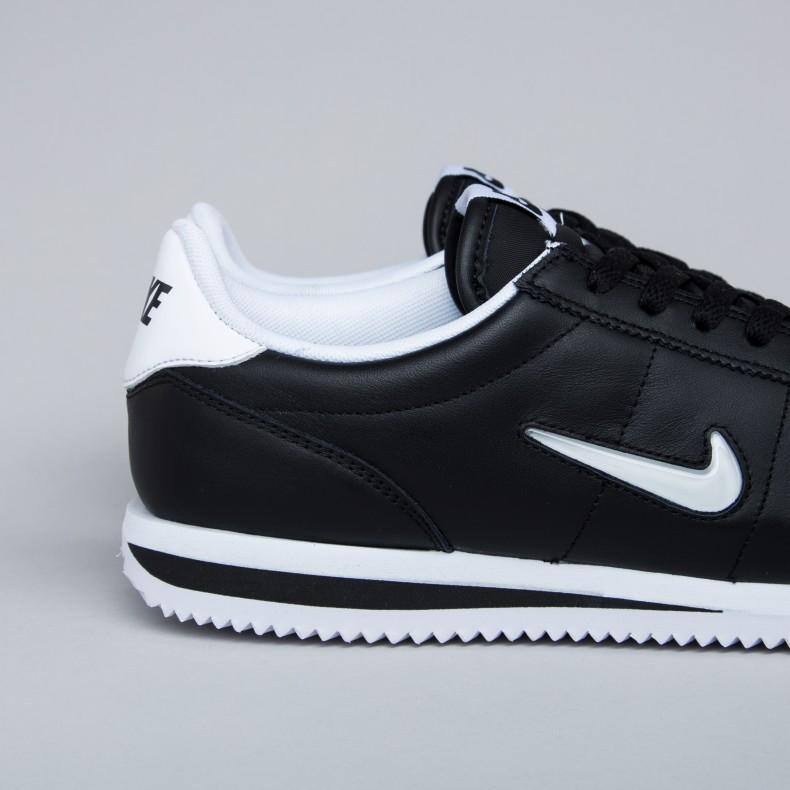 Basic Cortez Nike Consortium Jewel blackwhite qFnvwx8Az