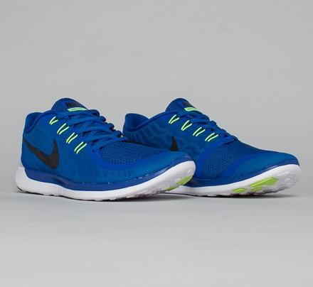 Nike Free 5.0 Game Royal / Neo Turquoise / Light Retro / Black