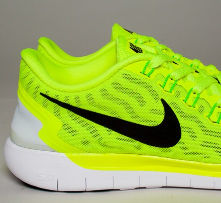 Nike Free 5.0 (VoltBlack-Electric Green-Light Lucid Green) - Consortium