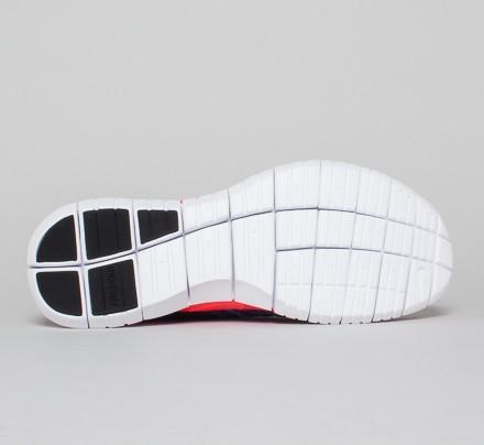 7be850c436f2 Nike Free Flyknit Chukka (Dark Obsidian Blue Lagoon-Volt-Bright Crimson) -  Consortium