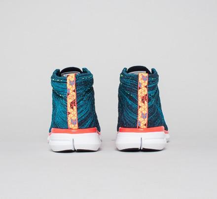 594daf3f5d5a Nike Free Flyknit Chukka (Dark Obsidian Blue Lagoon-Volt-Bright ...