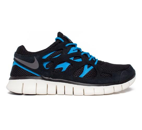 Nike Free Run 2 Blu Bianco Nero Grigio dQ5OFEP0
