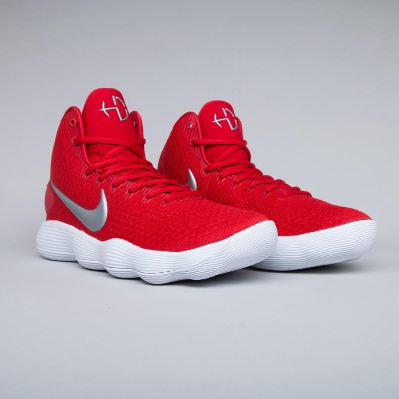 Nike Hyperdunk 2017 TB. (University Red/Metallic Silver-White)