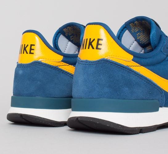 super popular d57af 9810a nike internationalist court blue yellow