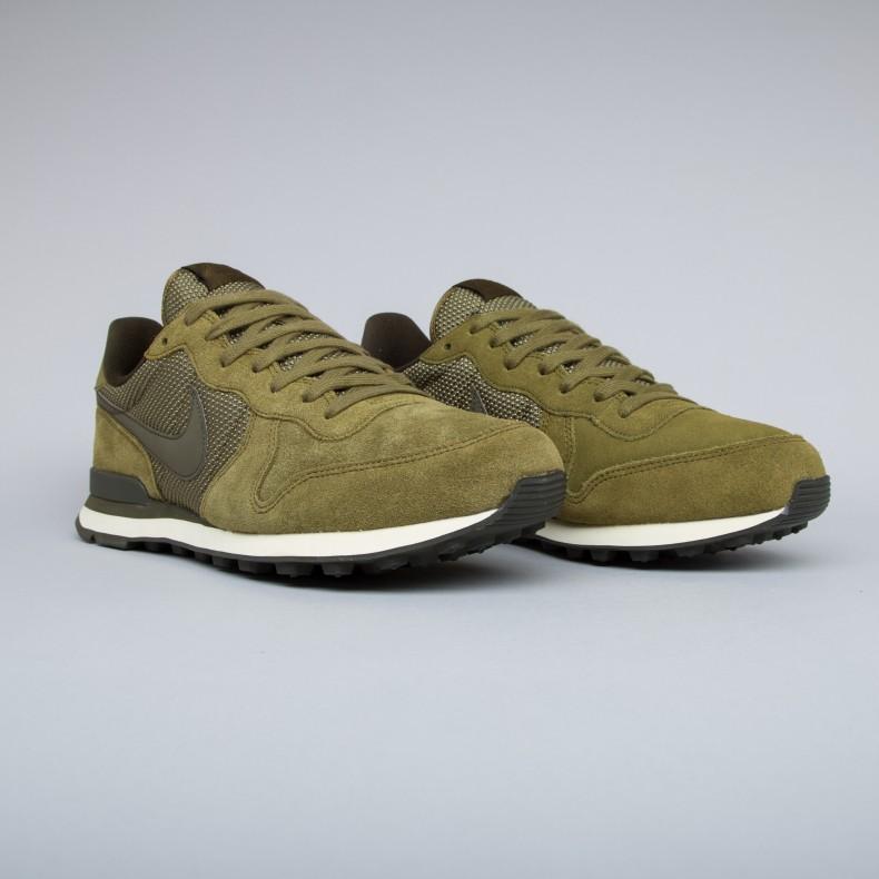 sale retailer 84241 3a6dd Nike Internationalist Premium (Olive Flak/Dark Loden-Cashmere ...
