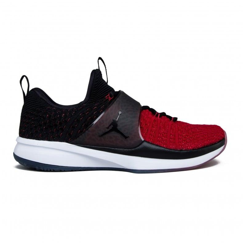 new arrival 5f5e0 9553c Nike Jordan Trainer 2 Flyknit (Gym Red Black-Black) - Consortium.