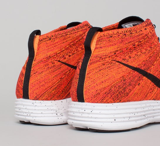 half off 17061 c09cb Nike Lunar Flyknit Chukka. (Bright Crimson Black-Total Orange-White)