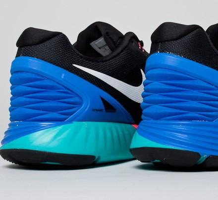 f04207c278212 Nike Lunarglide 6 (Black White-Hyper Cobalt-Hyper Punch) - Consortium
