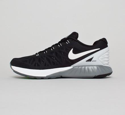 Nike Lunarglide 6 Platine Blanc / Pur / Gris Froid / Manteau Noir offre pas cher 4FfaT