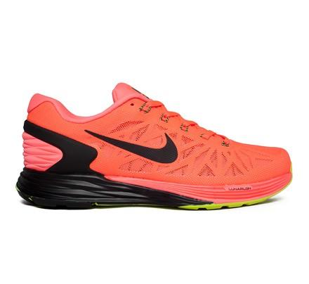 da7f2739e5b73 Nike Lunarglide 6 (Hot Lava Black-Volt) - Consortium