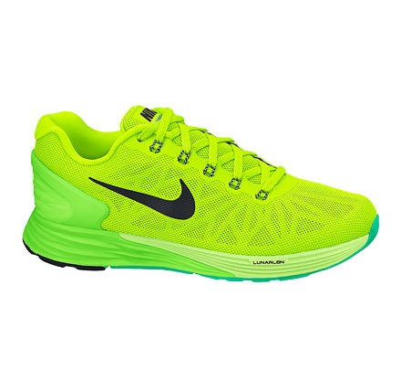buy online d2461 34bc3 Nike Lunarglide 6 (Volt/Black-Flash Lime-Liquid Lime ...